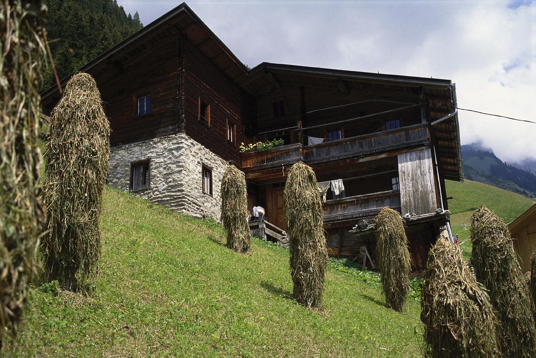 Alpenhof in Brandberg. Foto: Zillertaler Alpen