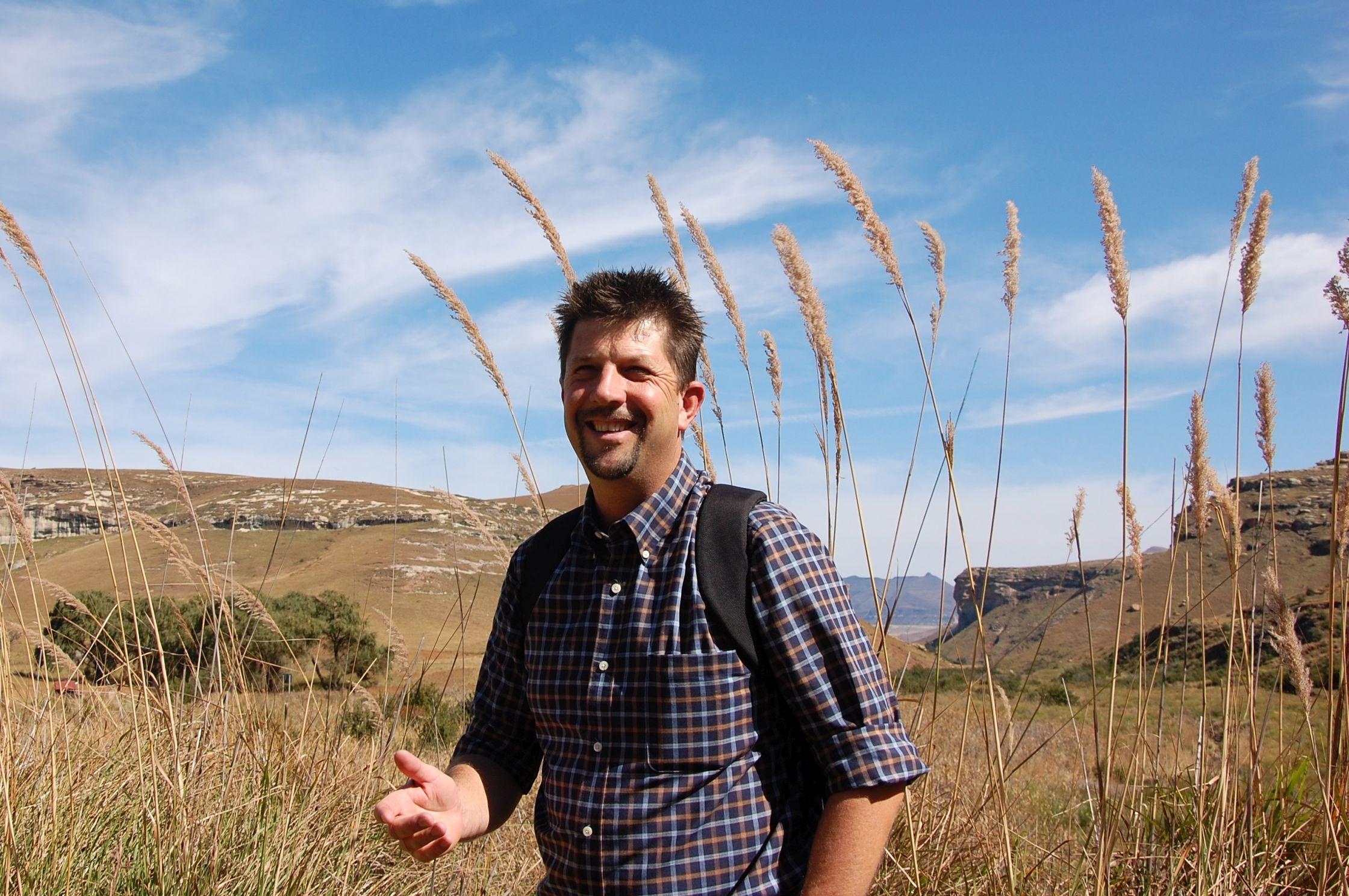 Tourguide Thomas spricht neben Afrikaans und Englisch auch deutsch.