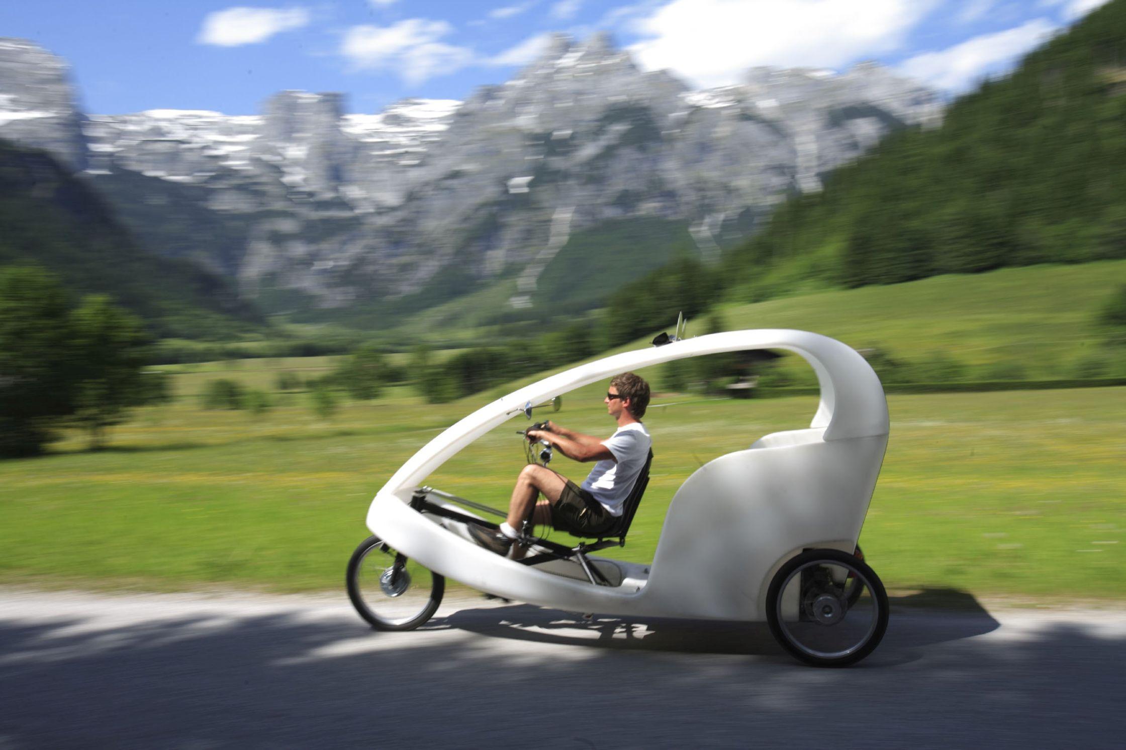 Sanfte Mobilität in Werfenweng. Foto: Werfenweng