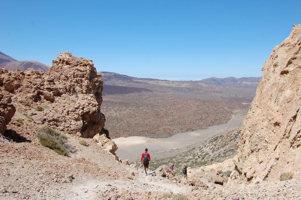 Der 2718 m hohe Guajara ist eine Wanderalternative zum vielbesuchten Teide
