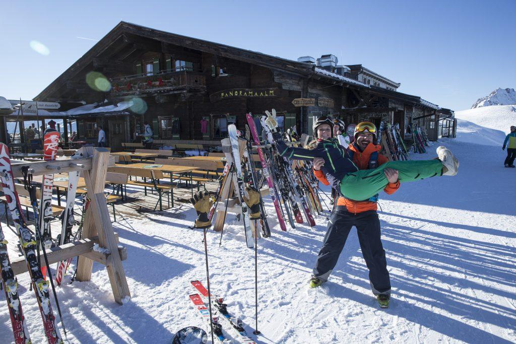 Kitzbühel, Skifahren, Snowboarden