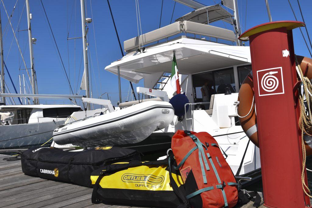 Ortlieb Atrack & Duffle RS überzeugen beim Sail & Kite-Törn @AlmutOtto